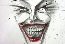 The joker / Villain of Gotham