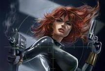 Black Widow / by Sophia Jones