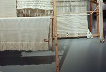 Magical yarns ♢ weaving tapestry embroidery macrame ..... / Tissage, tapisserie, broderie...
