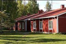Törmälän Loma- ja kurssikeskus, Rautalampi / Marjatan pirtissä nukuttaa todella hyvin.