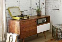 Cómodas Retro - 50's style / Cómodas y aparadores de estilo vintage o con aire retro.