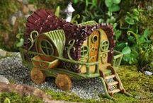 Tiny gardens-fairy gardens