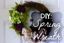 DIY Decor & Gifts / DIY's to make and give, or to make for you to use to decorate!