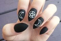 Nails, nail polishes