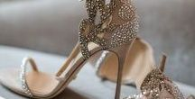 Wedding Shoe Inspiration / Images of wedding shoes we love to inspire brides.