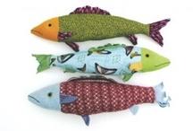 pesci di stoffa
