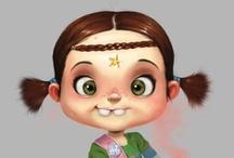 Favorite 2D & 3D Artists