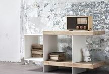 Flap / FLAP, furniture piece, coffee table, shelving unit  thought to place books, magazines and objects. The chromatic contrast and the differences between materials make it an innovative decor suitable for various type of locations Designed by Antonio Scotti