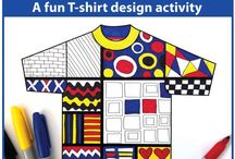 Artists Inspire Kids / Artists to inspire kids art projects. Mondrian, Klee, Matisse, Warhol....