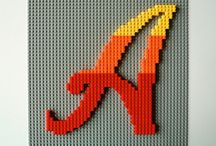 Lego art / Using Lego pieces as art, eg mosaic, frames, even mending walls!