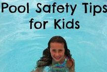 Home Pool Safety / We want you to enjoy your family pool but also be aware of some safety rules that will keep you and your kids safe!