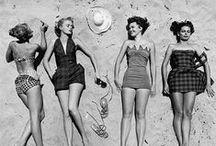 """C'era una volta. / """"Non si vede bene col cuore. L'essenziale è invisibile agli occhi."""" La storia, le icone e l'essenza delle spiagge e delle dive che hanno attraversato il #beachwear."""