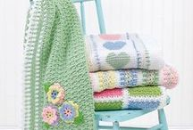 baby  blankets knitted & crocheted
