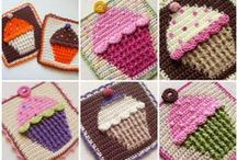 crochet cup cakes