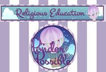 Religious Education Resources / Ponder a while and the possibilities are endless!