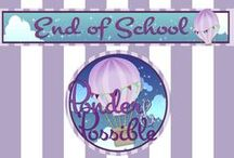End of the School Year Ideas! / A creative selection of end of the school year resources from 'Ponder & Possible'.