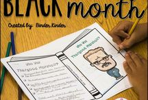 Black History Month for Kids / Creative resources to help kids learnt about Black History Month