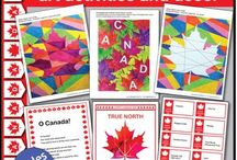 Canada Day art and crafts for kids / Fun facts and creative art ideas for kids to celebrate Canada Day 150 at school and home