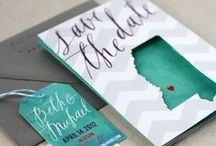 From Invitations to Thank You's / From your invitations to the programs to your thank you  notes, stationary plays a beautiful role in making even the  smallest touches of your Wedding Day absolutely perfect.  Finding the right stationary can make all the difference.
