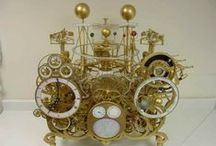 Orrery & Planetarium / Antique and new Orreries and Planetariums. Models of the solar system.
