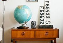 Vintage Home Decor / Home Decor that integrates vintage and antique items.
