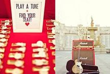 Musical Wedding Favours / Inspiration for choosing your music themed wedding favours