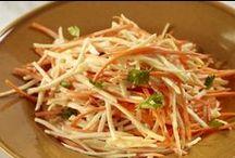 Salate / De la Mega Image poti sa cumperi cele mai bune si mai proaspete ingrediente. Iar aici te invatam ce sa prepari cu ele si cum sa le gatesti astfel incat sa pastrezi cat mai mult din valoarea lor nutritiva.