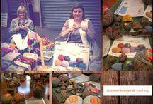 World Wide Knit in Public/Journée ou tricot / Giornata mondiale del #lavoroamaglia in pubblico #knit #tricot