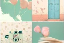 Pastel world / Pastel colours Inspiration Board, Find Pastel Palettes to inspire you for your Art & Design Projects
