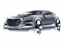 Automotive Design Sketches / Check the full gallery of sketches at http://www.carbodydesign.com/design-sketch-board/