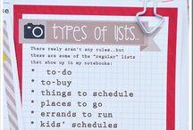 lists ♥