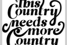 Gone Country / From her cowboy boots to her down home roots, she's country! / by Sugrlily