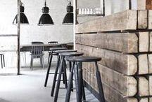 Style  Industrial / Carré magic agencement d'espaces professionnels : hôtels, restaurants, bar, commerces, résidences ... Décoration d'intérieur loft et atelier. Sonia M-J décoratrice d'intérieur.