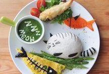 FOOD ART / Cute and kawaii food, food for kids