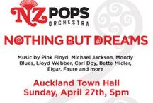 Nothing but dreams concert / Auckland Town Hall Sunday April 27th, 5pm