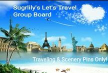 ! LET'S TRAVEL GROUP ! / TRAVEL&SCENERY PINS ONLY! Or removal of pin and pinner & blocked