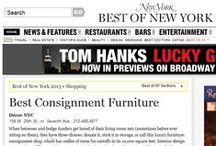 Decor NYC In The News / So appreciative to have been selected for these fun stories. Thank you to our editor friends!