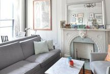Cool Neutrals / Cool, classic, and collected, this color palette works with every design style