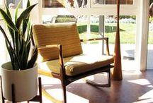 Mid-Century Modern / Baughman, van der Rohe, Eames, oh my!