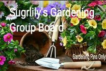 ! GARDENING GROUP BOARD! / GARDENING PINS ONLY! Or removal of pin and pinner & blocked