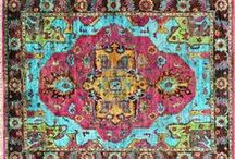 Colorful Area Rugs / Add some color to your life!