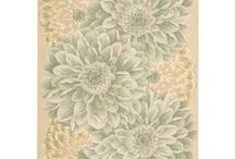 Floral and Botanical Area Rugs / Area rugs with a wide range of very pretty floral and very refreshing botanical prints.