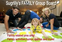 !Family Group Board! / Family related pins only!other pins&pinners will be removed&blo
