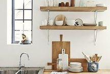 KITCHENS / vintage kitchen, scandinave design, lovely kitchen
