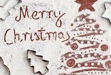 CHRISTMAS - NÖEL / Décoration de table, de salle, petits biscuits, lovely food