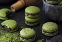 MATCHA GREEN TEA / All recipe with matcha green tea : drinks, cakes, japan specialities, sweet food...