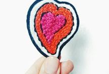 Ginger Muse : Online Embroidery Patterns & Kits / Learn to embroider online with Ginger Muse fun embroidery patterns,kits and e-courses. Embroidery Tutorials with step by step instructions and videos showing you how to create beautiful embroidered art, patches for your home and gifts.