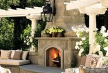 Home Exterior / Think practical. Think practical. Think gardens, and Germany and shaker shingle! This is Pinterest, not our bank account! We are in Cleveland, not Paris! Practicality aside, for now.
