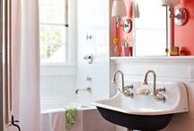 Bathroom Upgrades / We can all dream, but practicality is key!  Realistically, who is going to lounge in an over-stuffed chair, in the bathroom.  Most of us can lay on the floor, stretch out, and touch all four walls of the bathroom.  Vanity aside, let's focus on the small details that make a difference!
