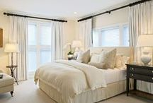 Master Bedroom  / Our sanctuary, a place to escape, relax, and love. Never a place too fight or argue with the one you love. / by Lindsey
